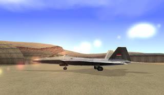 Free Download Mod Gta San Andreas F-22 Raptor TNI AU