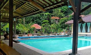 villa sukabumi bogor luas besar dekat rafting/arung jeram