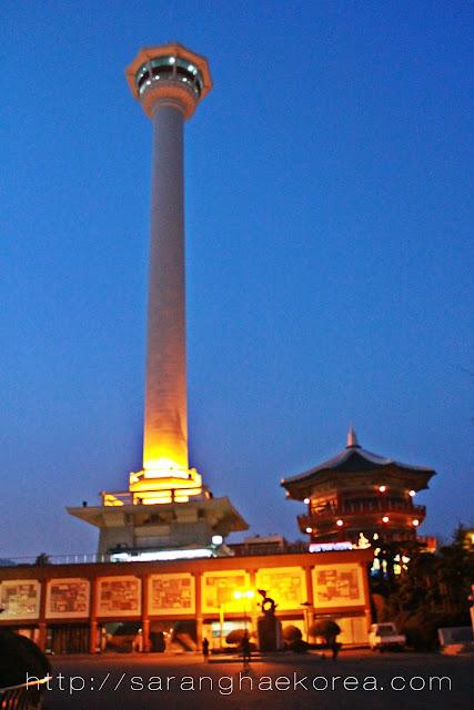 When in Busan- Visit the Busan Tower(부산타워) at Yongdusan Park