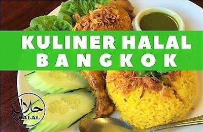 Tempat Kuliner Halal di Bangkok