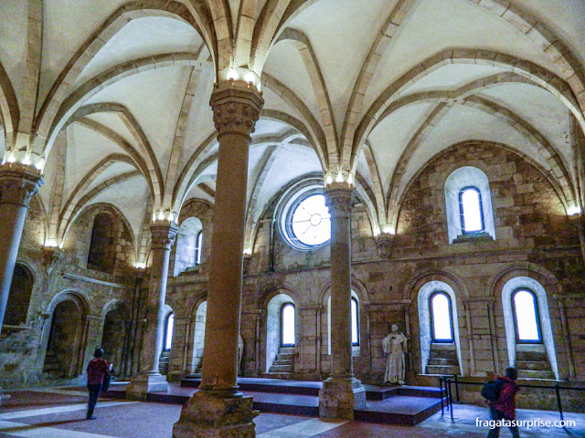 Refeitório dos monges, Mosteiro de Alcobaça