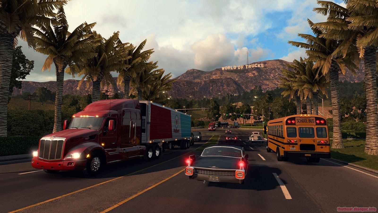 Download Game American Truck Simulator tất cả các phiên bản