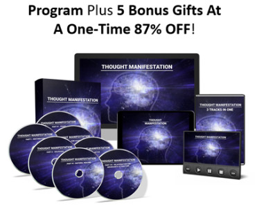 Thought Manifestation reviews, The Thought Manifestation Secret Program, Full PDF BOOK & MP3 Audio DOWNLOAD. Thought manifestation superpower wiki