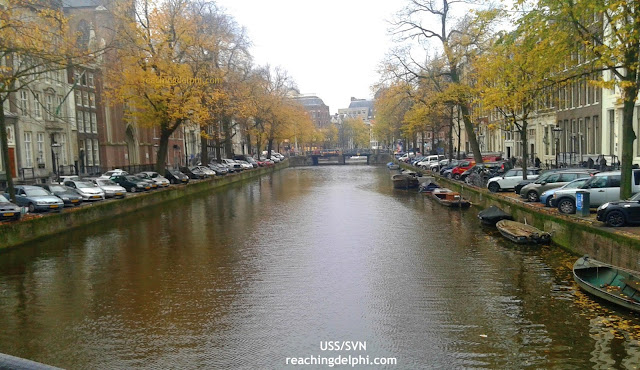 Canals Amsterdam Netherlands