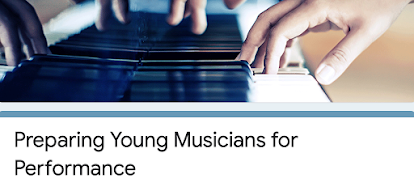 Participate in a Research Study: Preparing Young Musicians for Performance