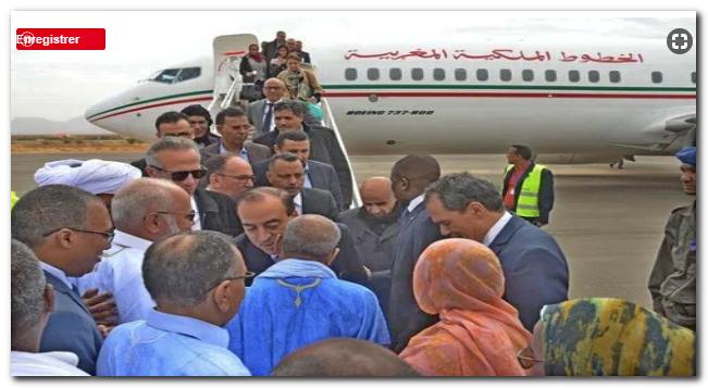 """الوزير """"حسن عيبابة"""" يغير اسم الرئيس الموريتاني في حضرته (+فيديو)"""