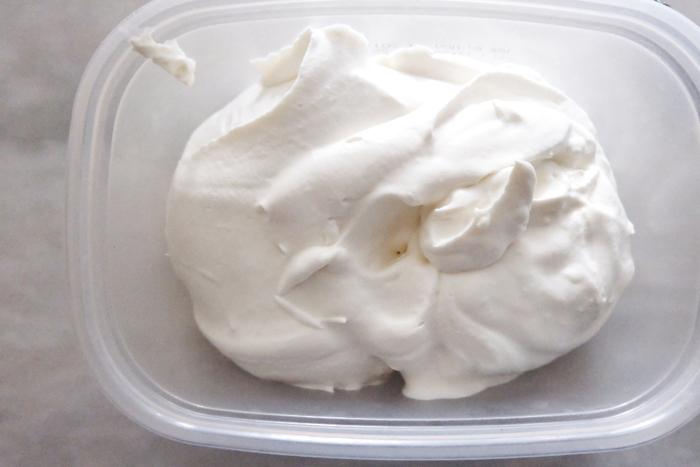 prepared cream filling