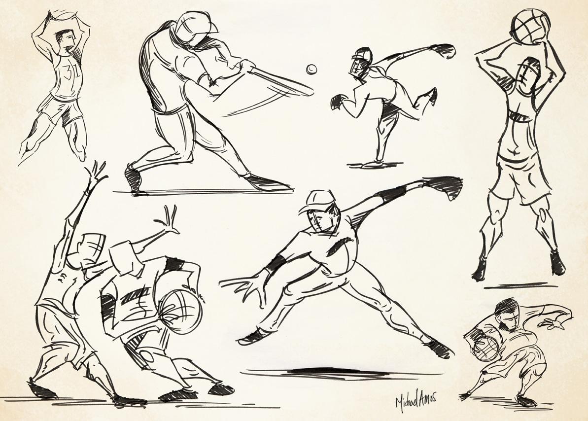 drawings sports drawing gesture figure gestual dibujo march warm