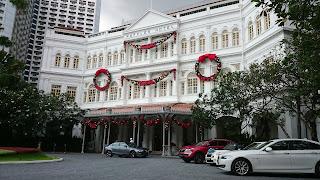 Christmas at Raffles Hotel Singapore
