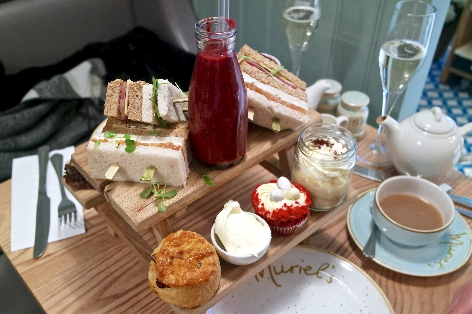 Afternoon Tea at Muriel's Kitchen Richmond