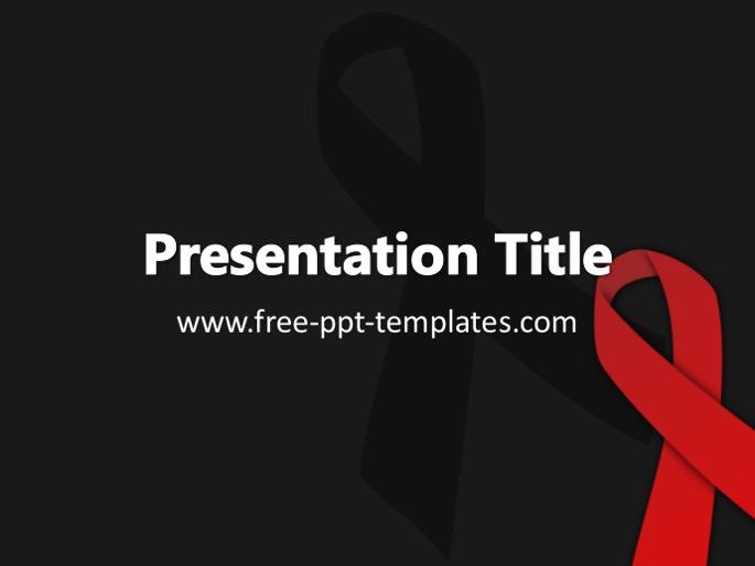 Aids ppt template toneelgroepblik Image collections