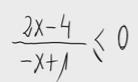 7.Inecuación - Cociente de polinomios 1