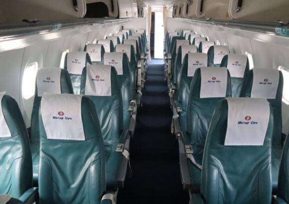 Antonov An-140 cabin interior