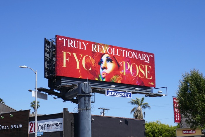 Pose 2019 Emmy FYC billboard