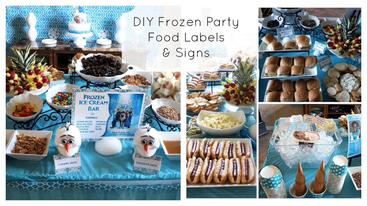 Frozen Party Ideas How To Set Up The Ultimate Frozen Party