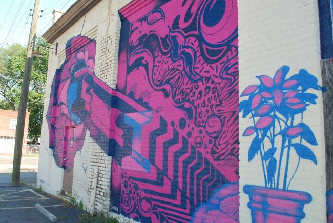 RVA Street Art: The GRTC Bus Depot (Part I) | Yeti Crafts
