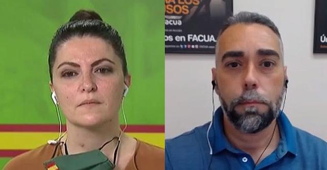 Macarena Olona y Rubén Sánchez