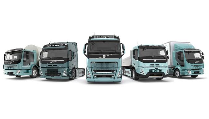 Volvo comercializará linha completa de caminhões elétricos na Europa a partir de 2021