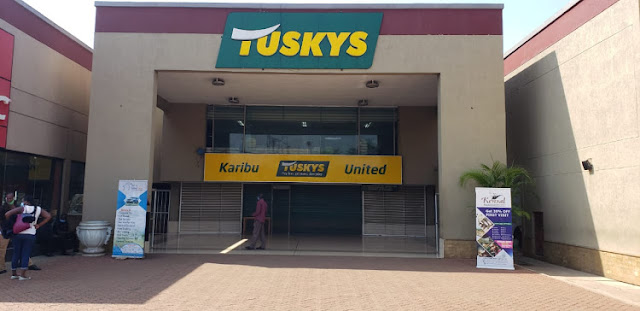 Kisumu Tuskys branch closed