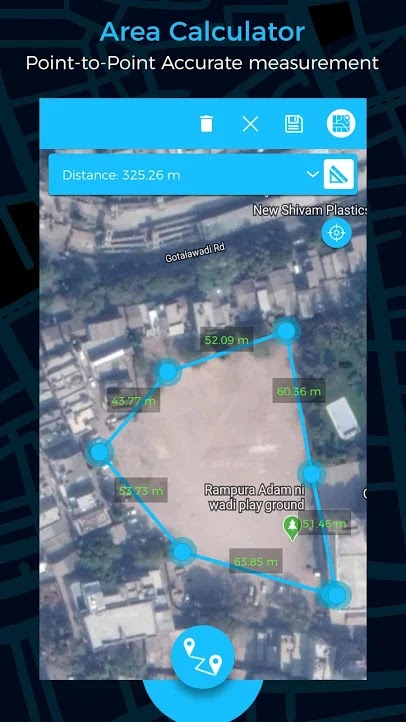 how to measure  lend on smartphone