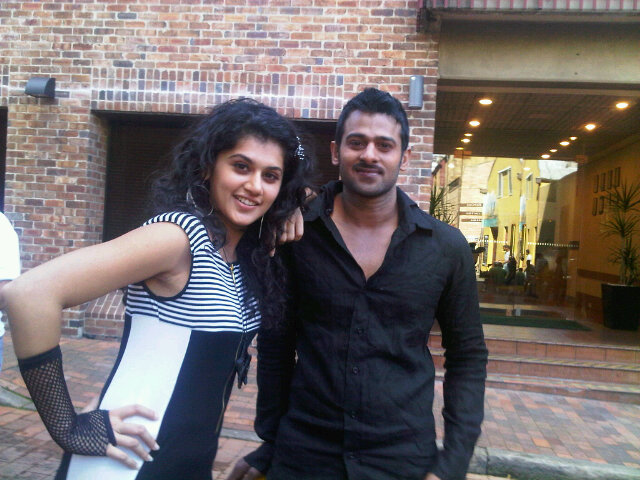 Taapsee Pannu HD Images With Prabhas