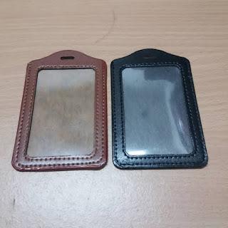 Jual Gantungan ID Card Kulit Custom Keren