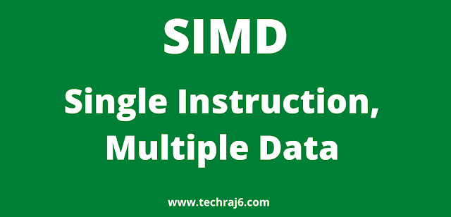SIMD full form, What is the full form of SIMD
