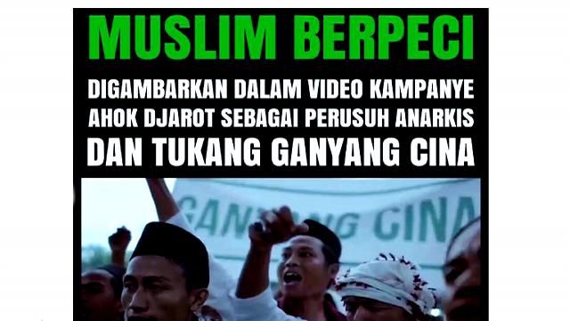 Video Kampanye Ahok Dianggap Fitnah Keji Oleh Aa Gym, Tagar #IklanAhokJahat Pun Jadi Trending Topik