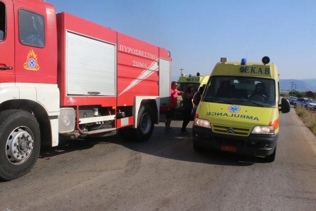 Χειριστής γκρέιντερ έχασε τη ζωή του πέφτοντας σε χαράδρα 200 μέτρων στη Μεσσηνία