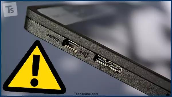 اصلاح مشكل يعمل منفد USB