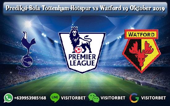Prediksi Skor Tottenham Hotspur vs Watford 19 Oktober 2019