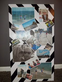DIY Upcycled Lifesize Scrapbook Page