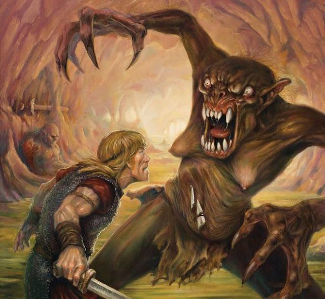 digressão beowulf
