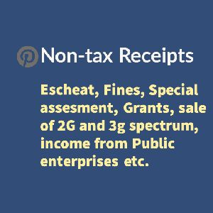 Non tax receipts is a revenue revenue receipt