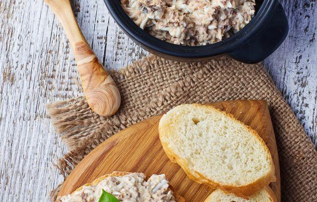 Sardine pâté