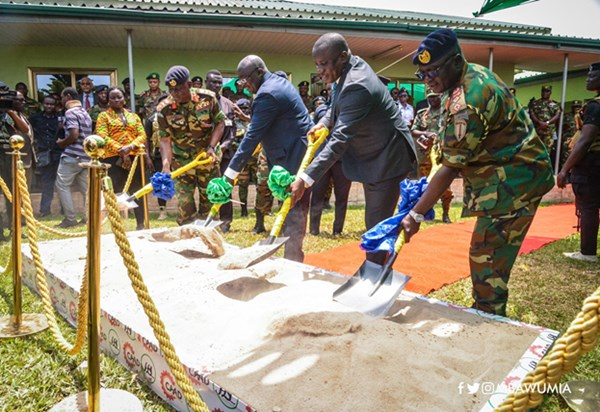 Vice President Bawumia Cuts Sod For New Army Headquarters
