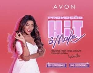 Cadastrar Promoção Avon e Ludmilla Hit & Make - Carro e Muitos Prêmios