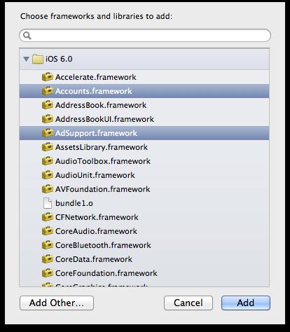 Using iPhone SDK: Integration of FacebookSDK into iOS 5 x & iOS 6 x
