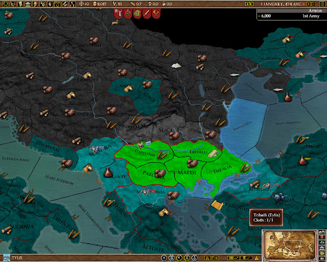 Resources and Trade screenshot | Europa Universalis: Rome
