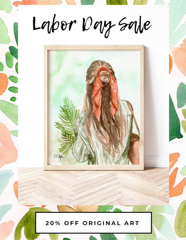 Original Watercolor Art Sale- Elise Engh Studios
