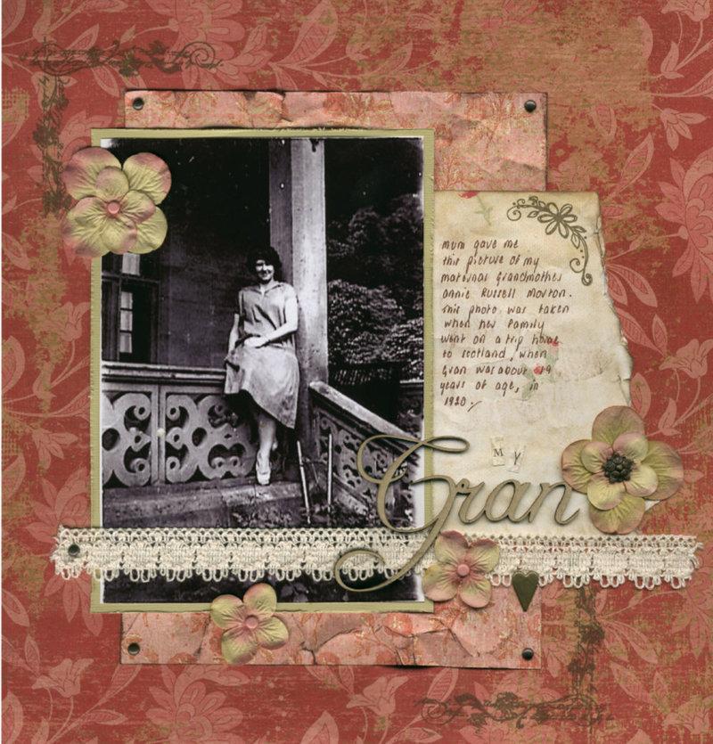 heritage photo album ideas - Heritage Scrapbooking on Pinterest