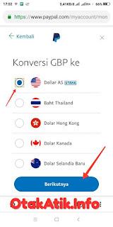 konversi GBP ke USD