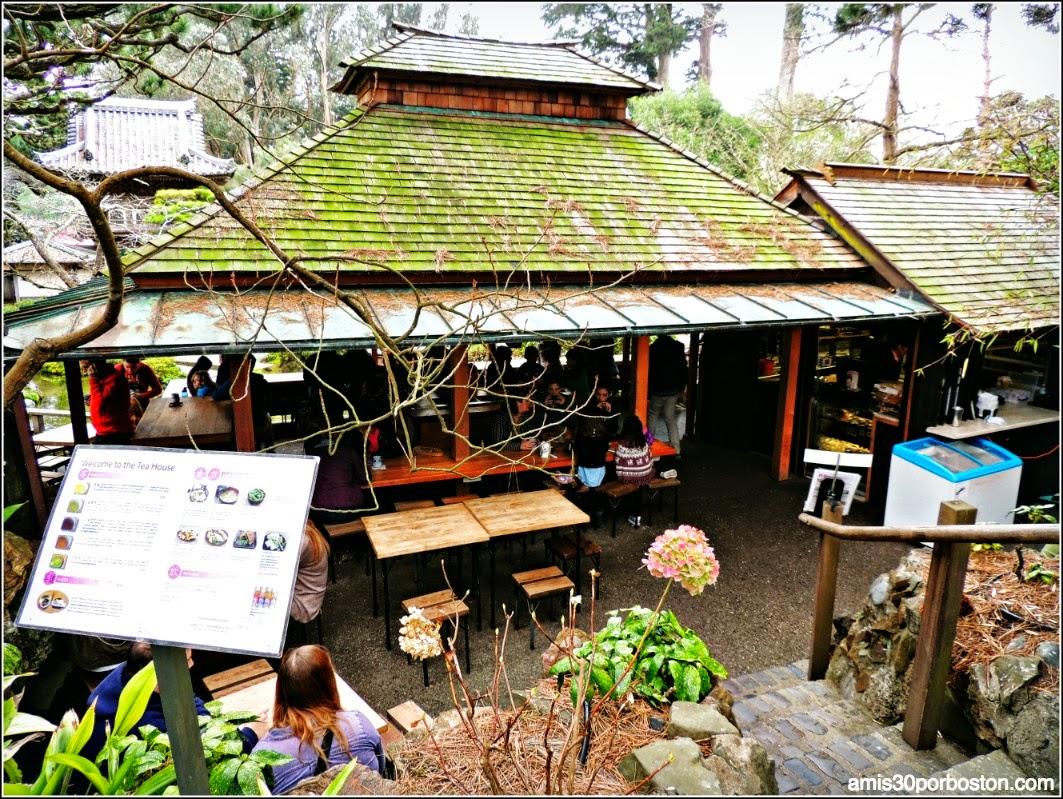 Tea House Japanese Tea Garden: San Francisco