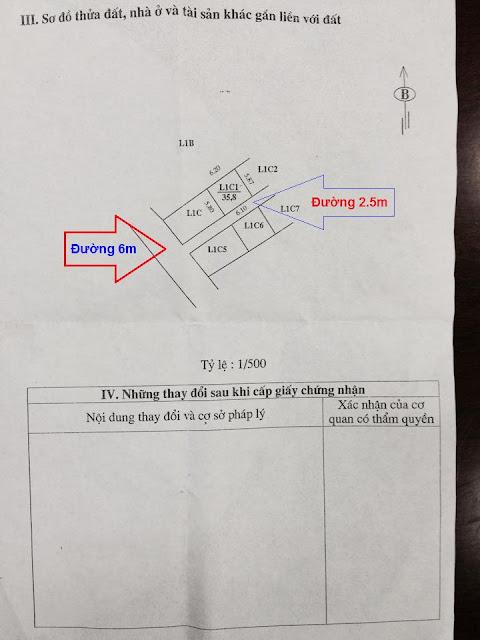 Sổ đỏ chính chủ lô đất thổ cư giá rẻ Sổ Đỏ tại tổ 4 Phường Đồng Mai, Mai Lĩnh, Hà Đông, HN