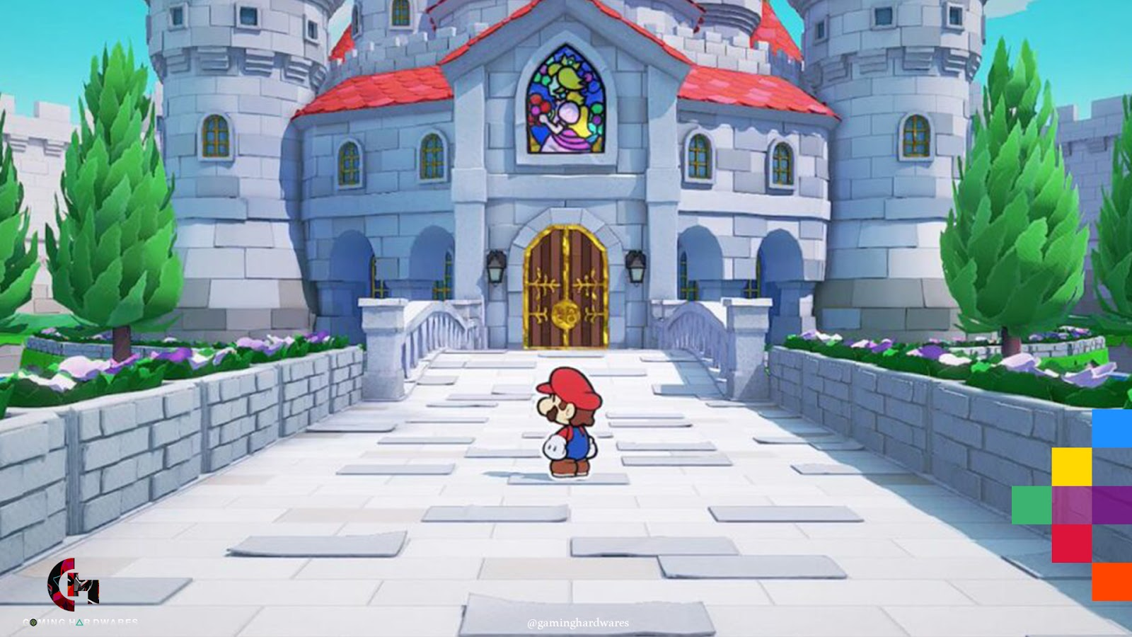 paper mario the origami king gameplay