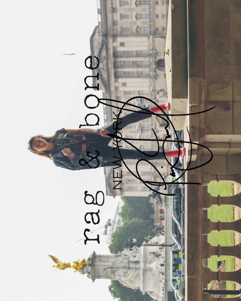 PARIS JACKSON FOR RAG & BONE DIY PROJECT