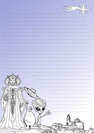 Fañanás: Carta a los Magos y Magas de Oriente para imprimir y colorear