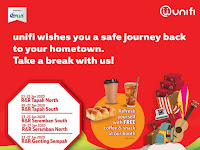 CNY 2020. Take a break with UniFi at selected R&Rs