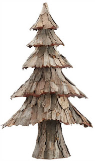 rustic bark tree