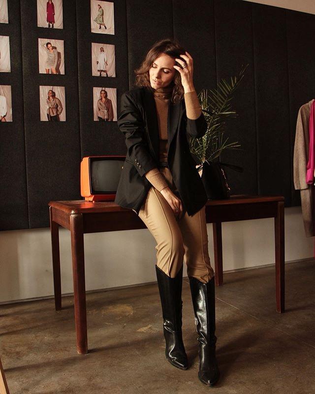 брюки в сапоги - новый стиль 2019